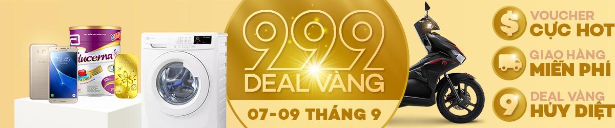 999 Deal Vàng từ Lazada
