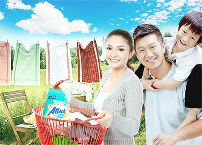 Sản phẩm giặt giũ và chăm sóc nhà cửa