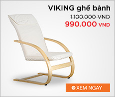VIKING ghế bành màu beige