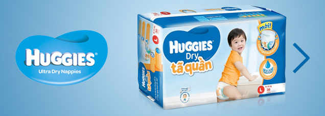 link to Huggies page