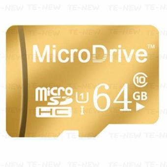 Micro Memory SD/TF Card Calss 10 64GB (Gold) - intl