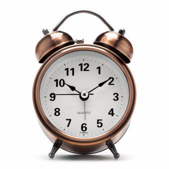 Đồng hồ báo thức để bàn (Màu đồng)