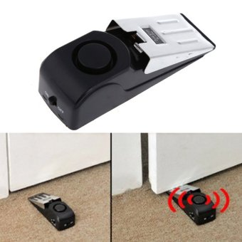 Door Stop Alarm Wireless Home Travel Security System PortableSafety Wedge