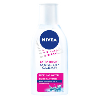 Nước tẩy trang NIVEA Extra White Make Up Clear Micellar Water 125ml
