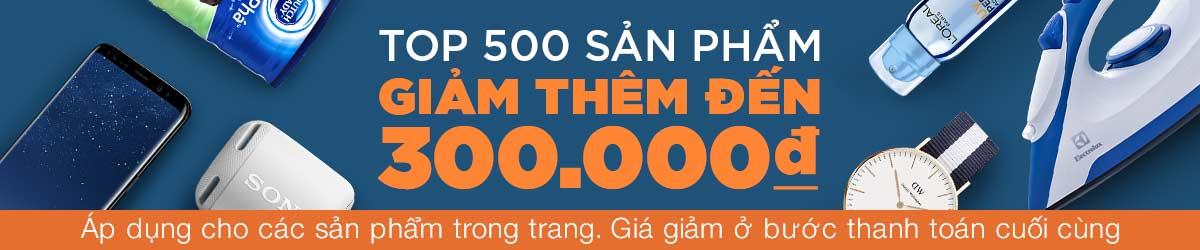 Deal Khuyến Mãi lazada - Giảm 300.000đ - Áp dụng hơn 500 mặt hàng