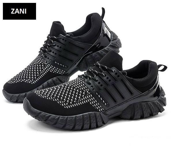 Giày thể thao nam ZANI ZN33913WB-Trắng Đen