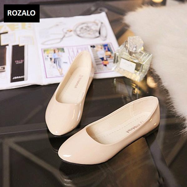 Giày búp bê thời trang nữ ROZALO RWG85016S -Trắng sữa.jpg