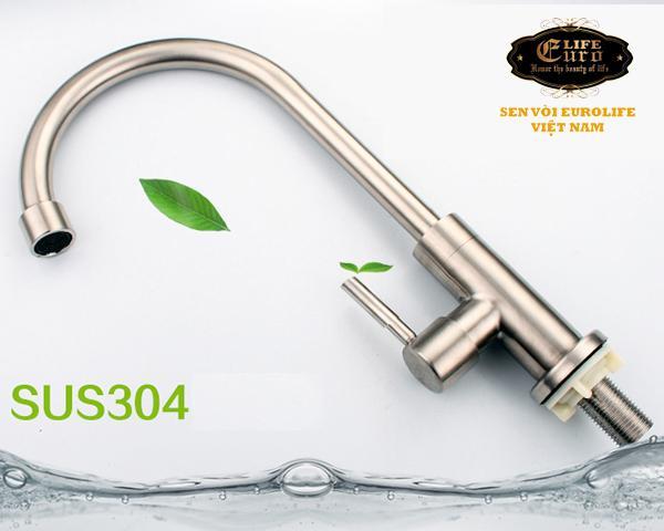 Vòi rửa chén lạnh Inox SUS 304 Eurolife EL-T017-3.jpg