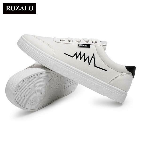 Giày Sneaker nam Rozalo RMG3901B-Đen