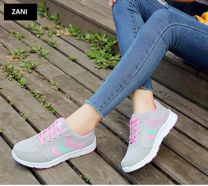 Giày sneaker thời trang thể thao nữ ZANI ZN7029P-Hồng