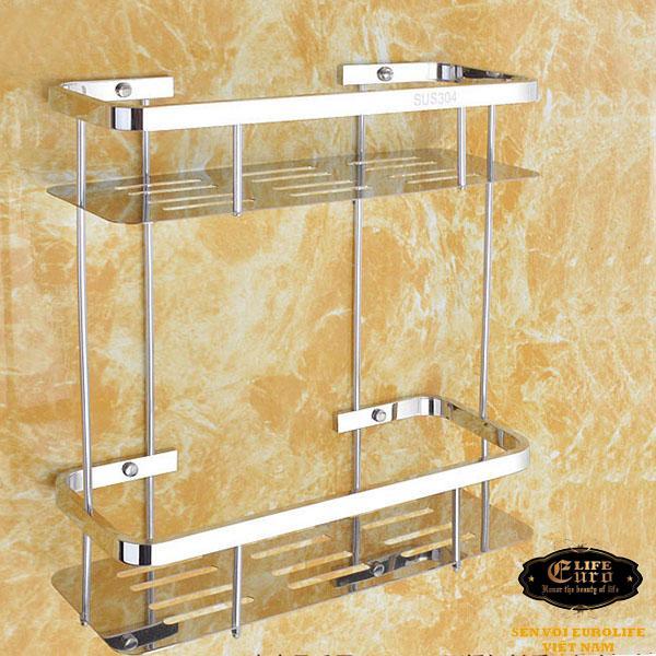 Kệ phòng tắm 2 tầng Inox SUS 304 Eurolife EL-KT10.jpg