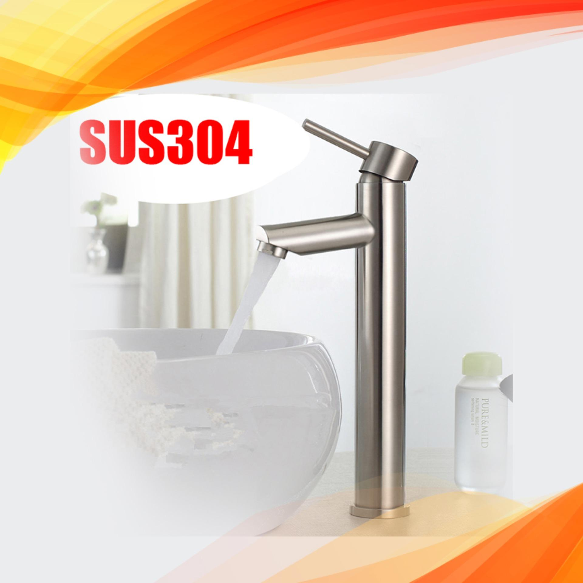 Bộ vòi chậu rửa mặt nóng lạnh 5015 ( dành cho chậu dương bàn)