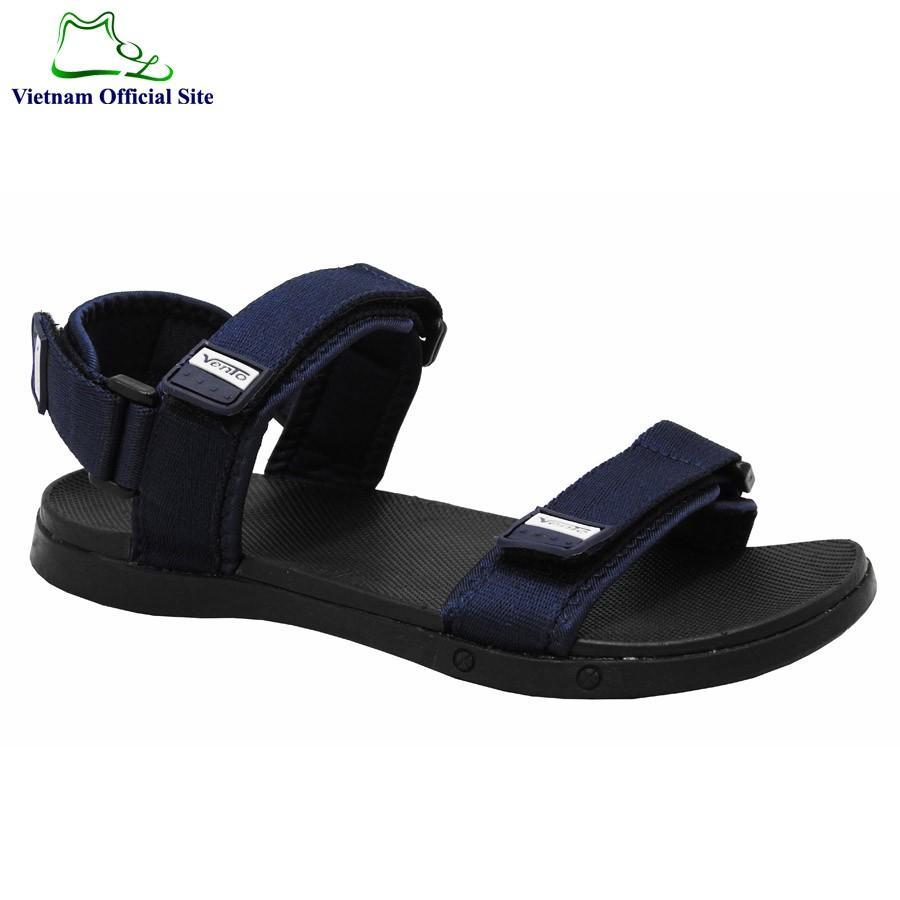 Giày sandal nam 2 quai ngang hiệu Vento NV5616BCh