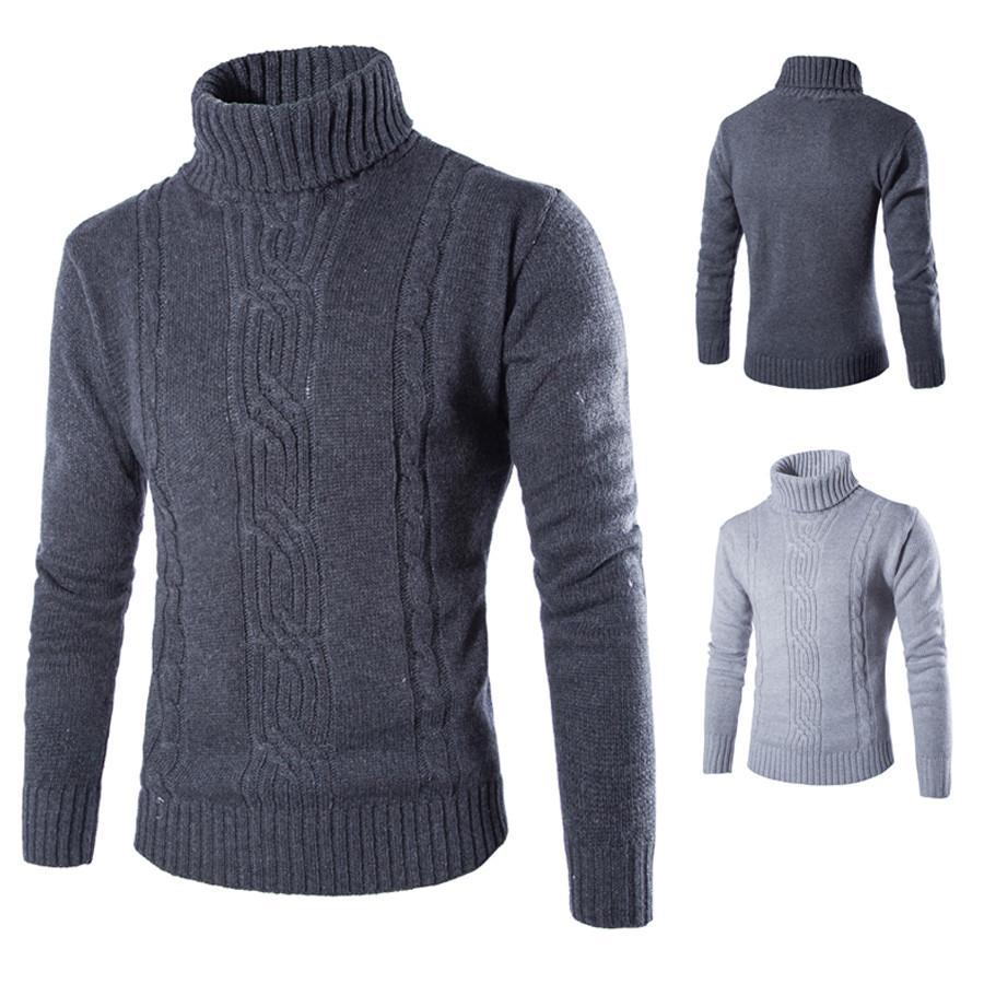 Áo len nam cổ cao thời trang Rozalo RM80306G- Xám1.jpg