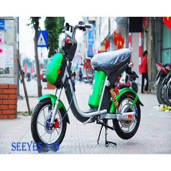 Xe đạp điện Nijia phanh đĩa 2015