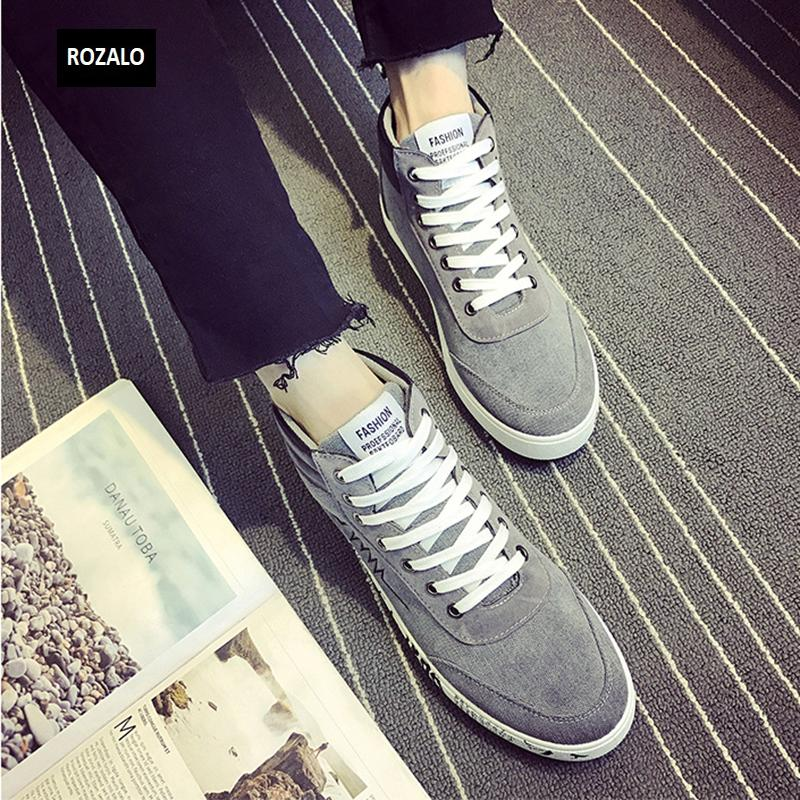 Giày vải casual nam cổ cao Rozalo RM55709 8.png