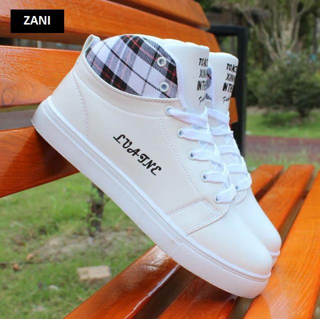 Giày cổ cao thời trang nam Rozalo RM5822W-Trắng