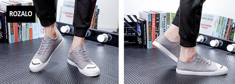 Giày vải  nam mũi bọc cao su dẻo vải chống mài mòn Rozalo RM56658 20.png