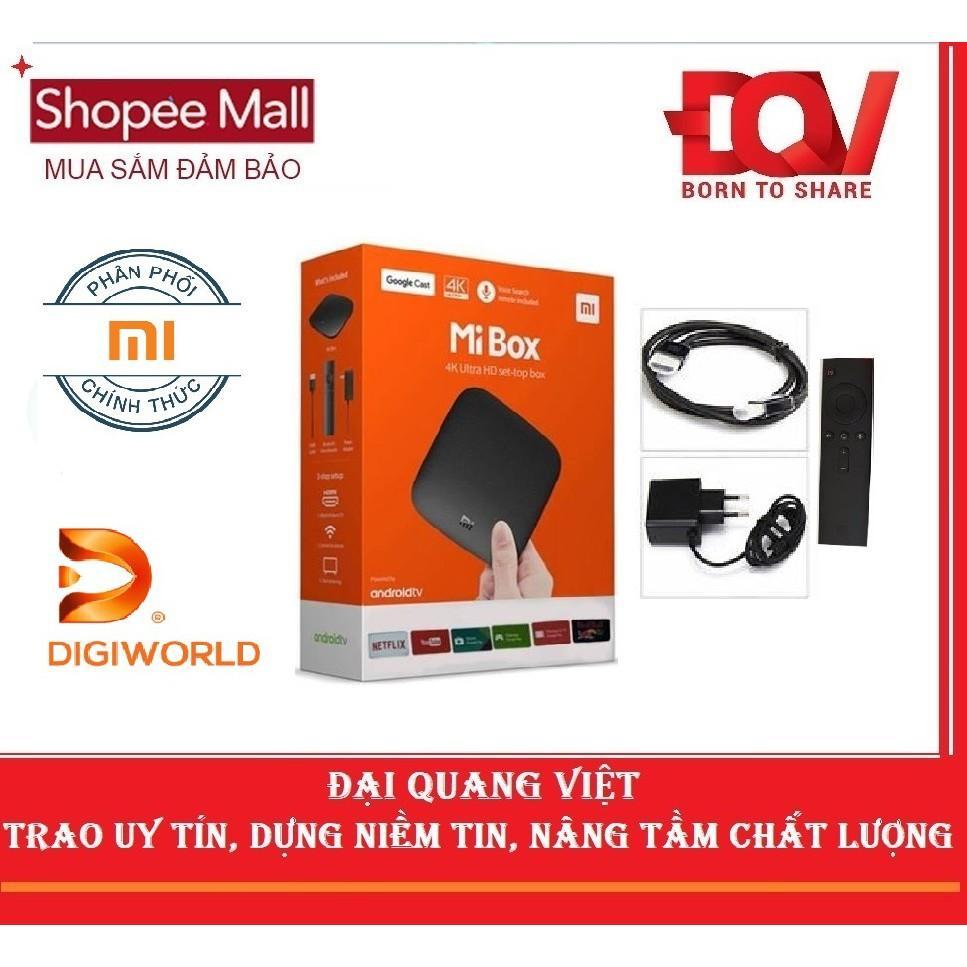 Bảng giá Android Tivi Box Xiaomi Mibox 4K Global Quốc Tế - Hãng Phân Phối Chính Thức