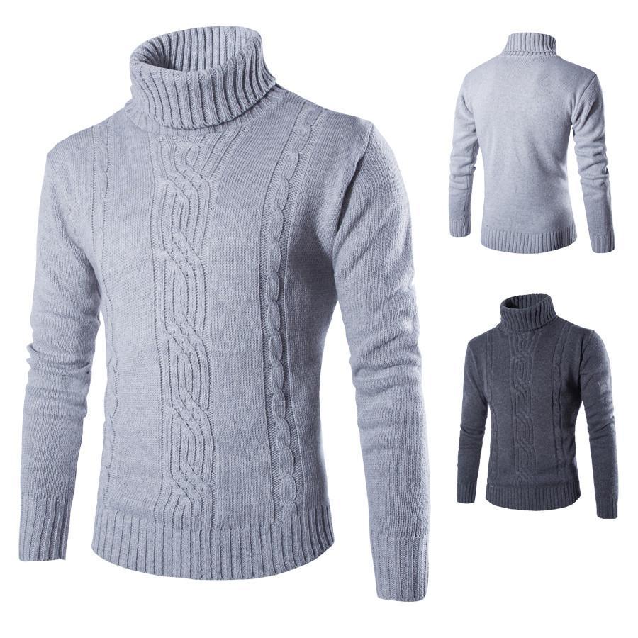 Áo len nam cổ cao thời trang Rozalo RM80306G- Xám.jpg