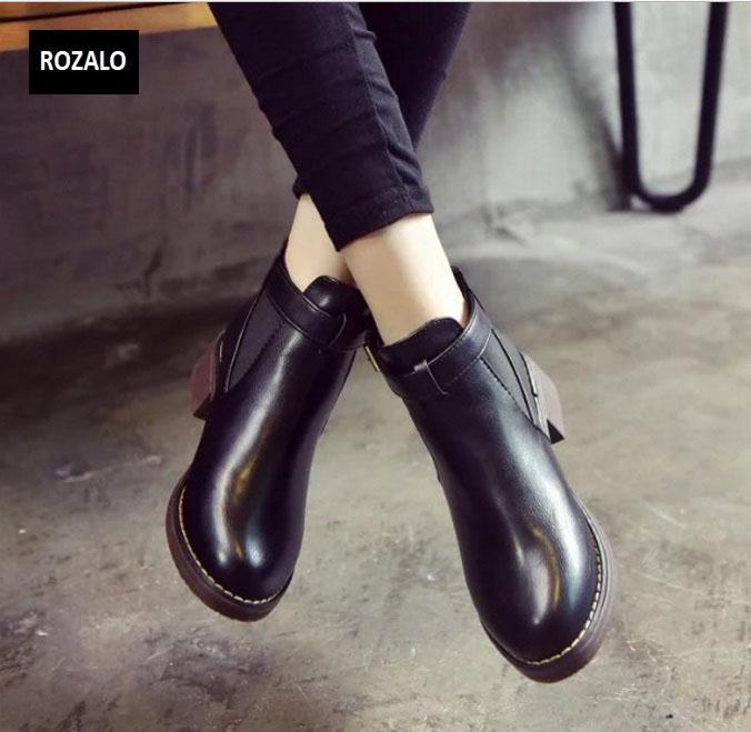 Giày chelsea boots nữ có đai Rozalo RW3758B-Đen3.jpg