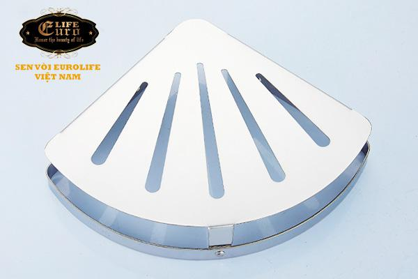 Kệ góc Inox SUS 304 Eurolife EL-KG1-6.jpg