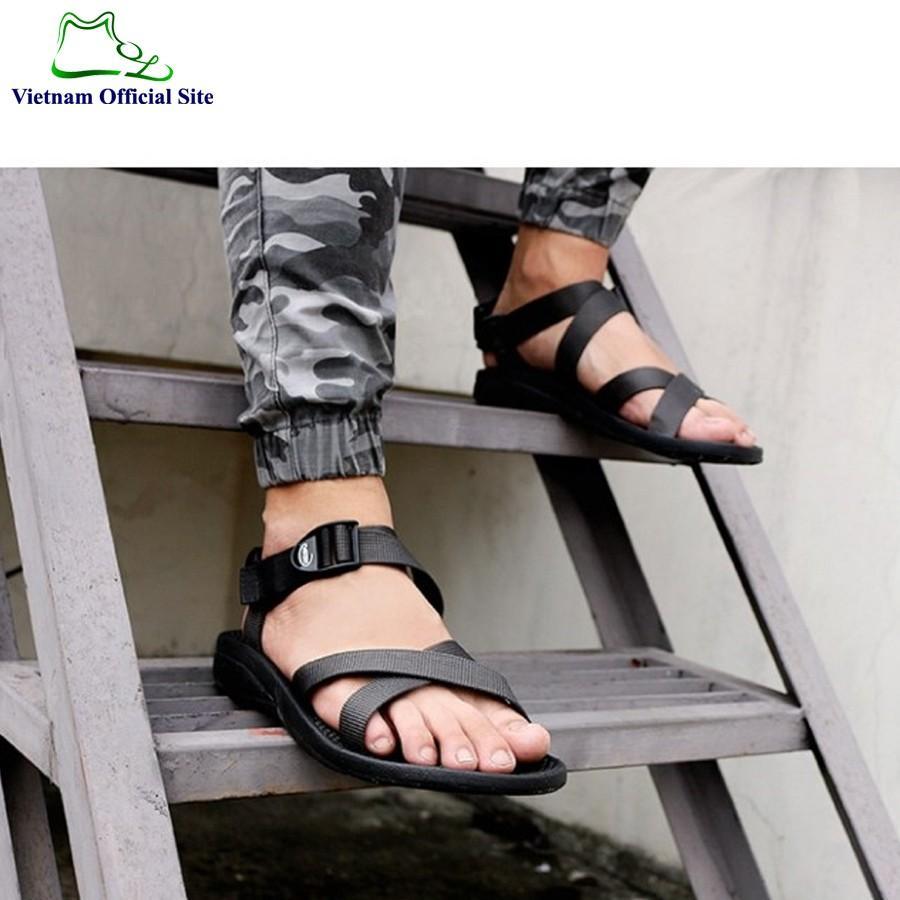 Giày sandal 3 quai chéo nam hiệu Vento NV70G