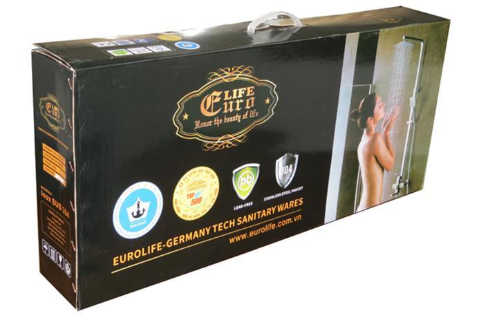 Bộ sen tắm đứng nóng lạnh Inox SUS 304 Eurolife.jpg