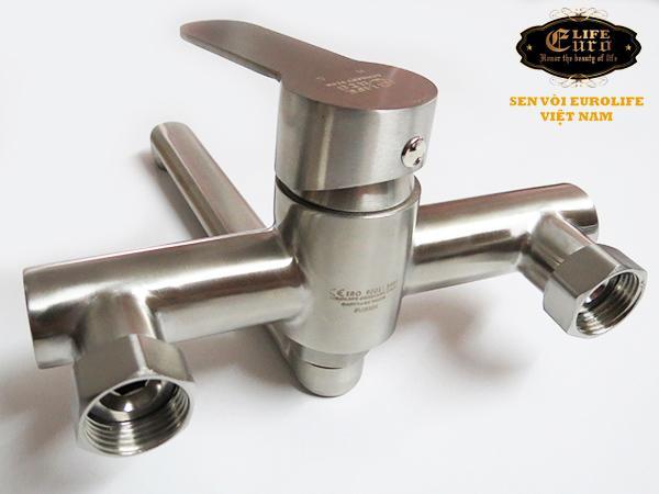 Vòi rửa chén nóng lạnh âm tường Inox SUS 304 Eurolife EL-1304-25.jpg