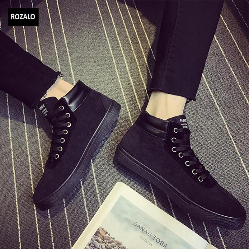 Giày vải casual nam cổ cao Rozalo RM55709  21.png
