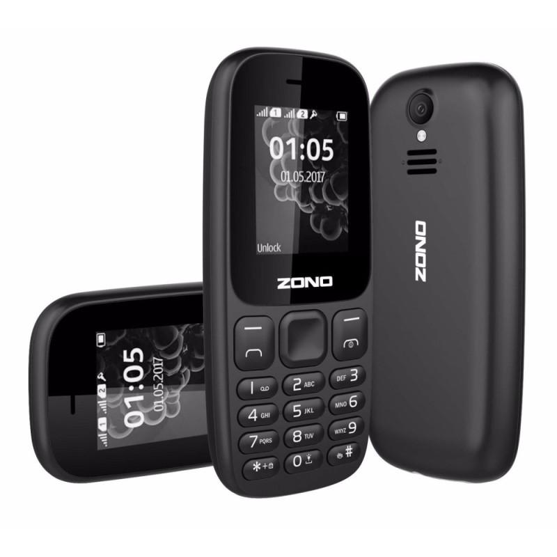 ĐTDĐ ZONO N105(2017) 2 Sim Có Camera (Bảo hành 12 tháng) - Đen