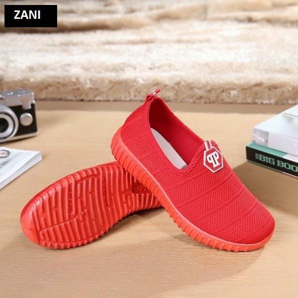 Giày Sneaker thể thao nữ ZANI ZN6601R-Đỏ