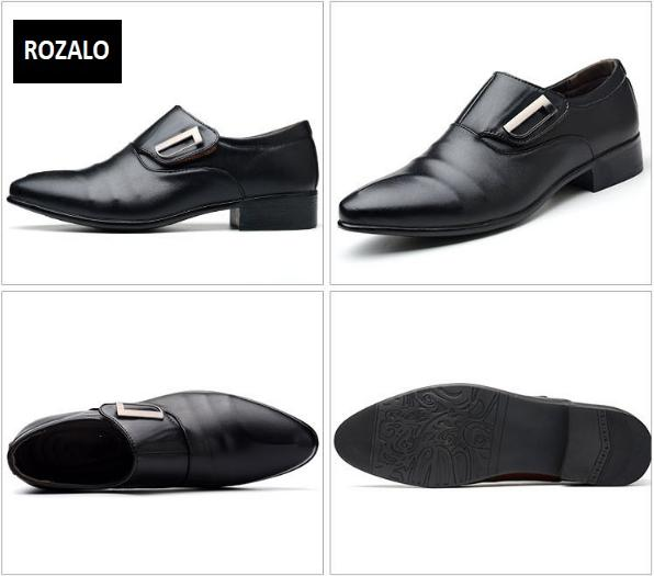 Giày tây nam công sở kiểu xỏ Rozalo RM62001B-Đen14.png