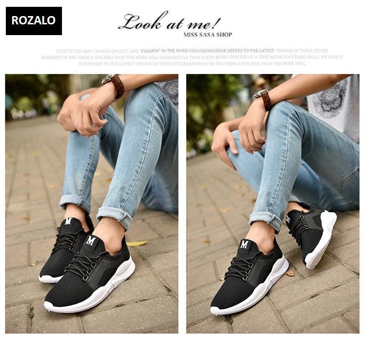 Giày đôi sneaker thời trang nam nữ Rozalo RZ8011BW- Đen10.jpg