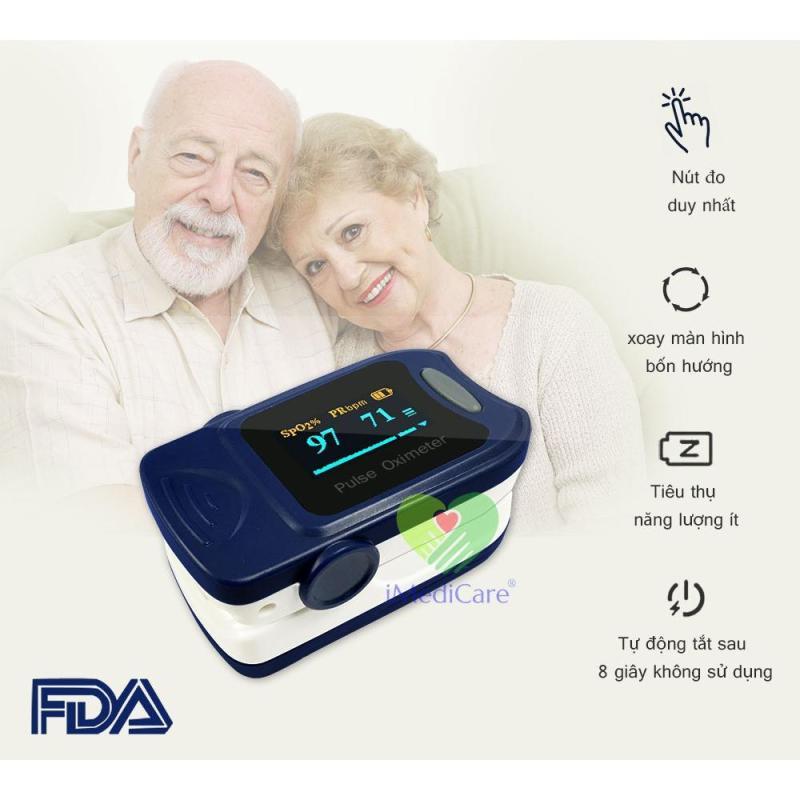 Máy đo nồng độ oxy trong máu iMedicare iOM A5 bán chạy