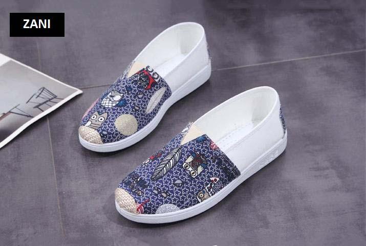 Giày lười vải nữ thoáng khí Zani ZW2231 8.jpg