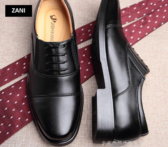 Giày tây nam kiểu quân đội siêu bền ZANI ZN35199