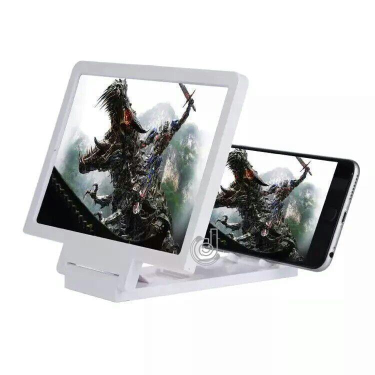 Kính 3D phóng to màn hình điện thoại chống mỏi mắt