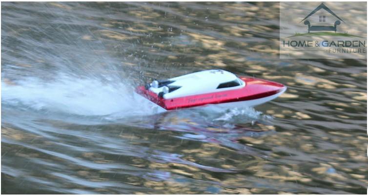 Mô hình ca nô điều khiển từ xa Racing Boat 2.4Ghz Model 802 ... MỚI !! - 3