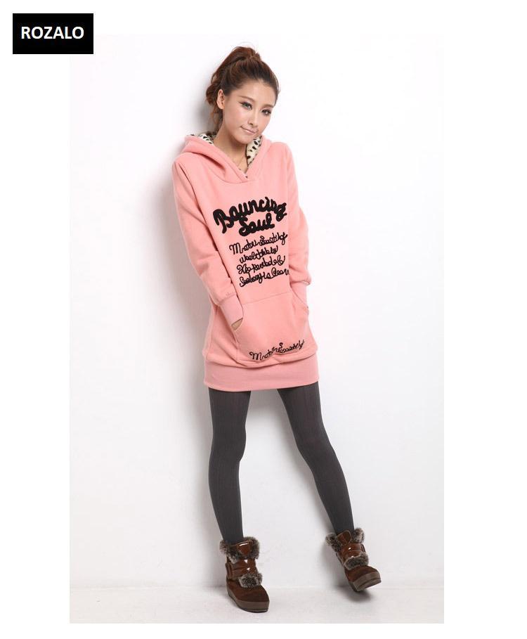 Áo khoác nữ hoodie thời trang Rozalo RW2961P-Hồng4.jpg
