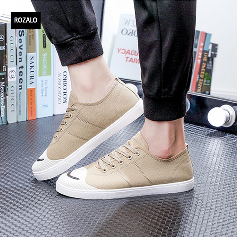 Giày vải  nam mũi bọc cao su dẻo vải chống mài mòn Rozalo RM56658 6.png