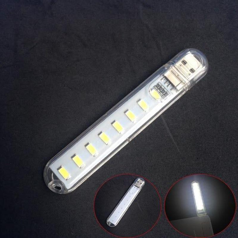 Bảng giá Đèn Led 8 Bóng Cực Sáng Cắm Cổng USB (loại tốt) Phong Vũ