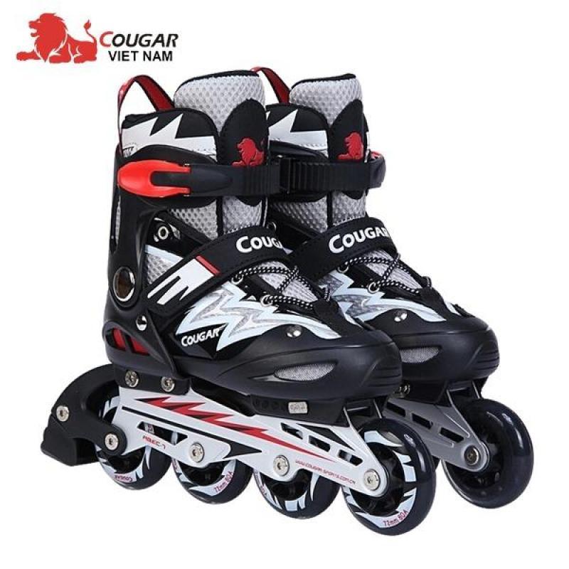 Phân phối Siêu phẩm Giầy trượt Patin Cougar có đèn 835LSG dáng thể thao - Full 4 mầu