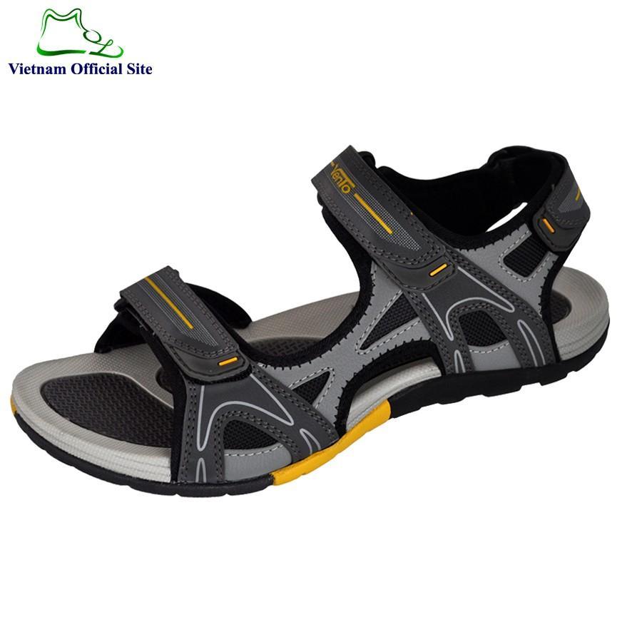 GIày sandal nam 2 quai ngang hiệu Vento NV4542G