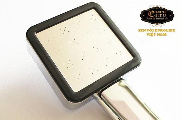 Bộ tay dây sen siêu tăng áp 1 chế độ nước chảy Eurolife EL-113SH-6.jpg