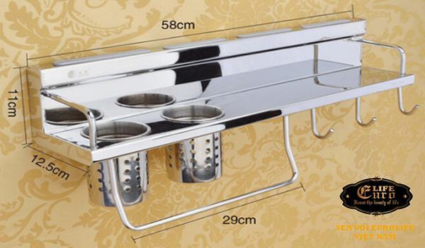 Kệ bếp đa năng Inox SUS 304 Eurolife EL-K4-1.jpg