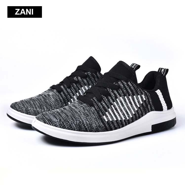Giày thể thao thời trang khử mùi siêu thoáng vải dệt ZANI ZN62612