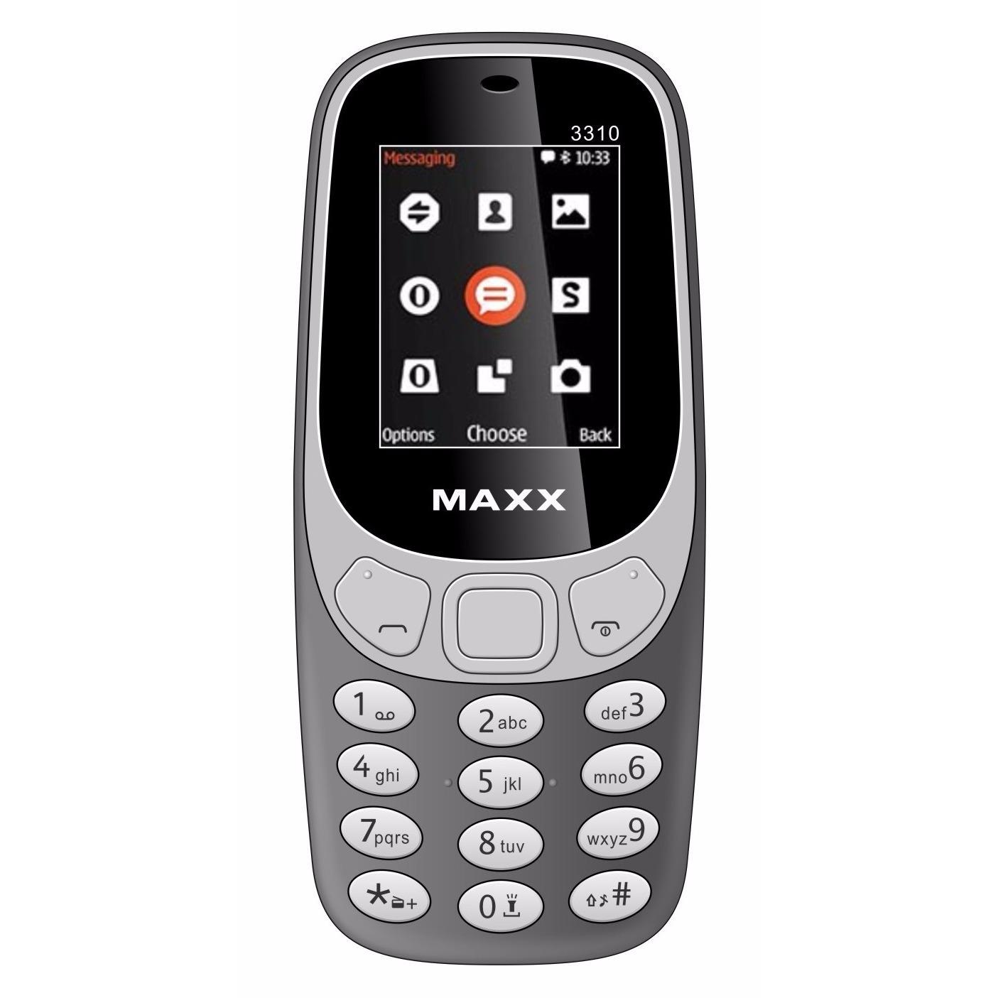 ĐTDĐ MAXX N3310 CLASSIC 2 Sim (Xám)