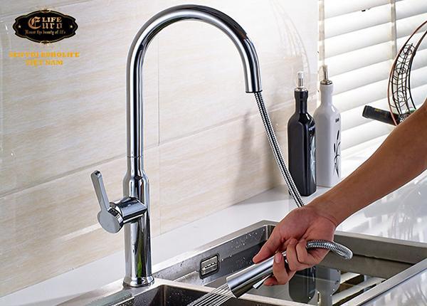 Vòi rửa chén nóng lạnh tay kéo Eurolife EL-T027-16.jpg