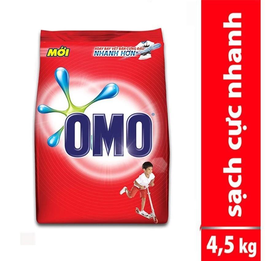 Bột giặt Omo 4,5kg đỏ